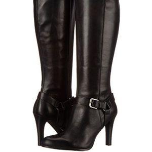 Lauren Ralph Lauren women's black boots.  Bria